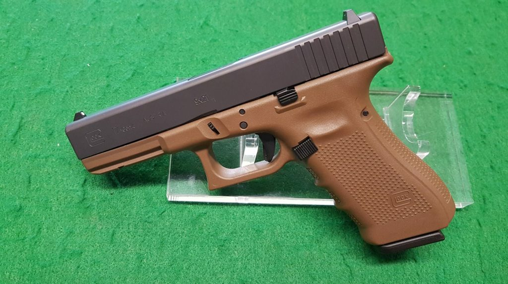 pistola semiautomatica glock