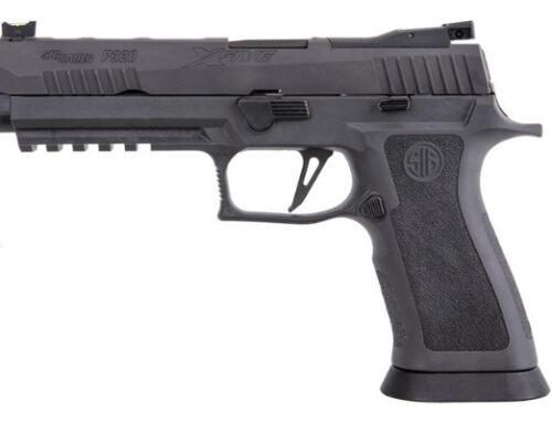 Pistola ad uso sportivo Sig Sauer P320 X Five.
